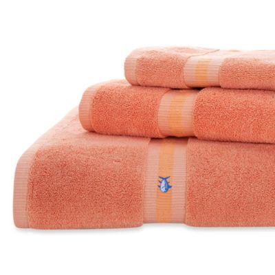 Coral Wash Towel