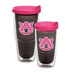 Tervis® Auburn University Emblem Tumbler with Lid in Neon Pink