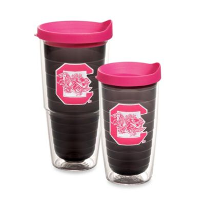 Tervis® University of South Carolina 16-Ounce Tumbler with Lid in Neon Pink