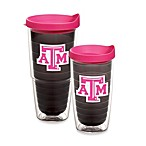 Tervis® Texas A&M Tumbler with Lid in Neon Pink