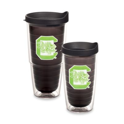 Tervis® University of South Carolina 16-Ounce Tumbler with Lid in Neon Green