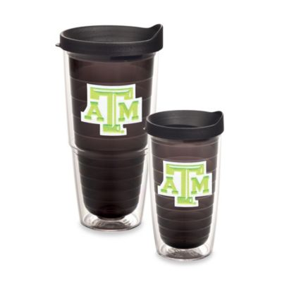 Tervis® Texas A & M University 16-Ounce Emblem Tumbler with Lid in Neon Green