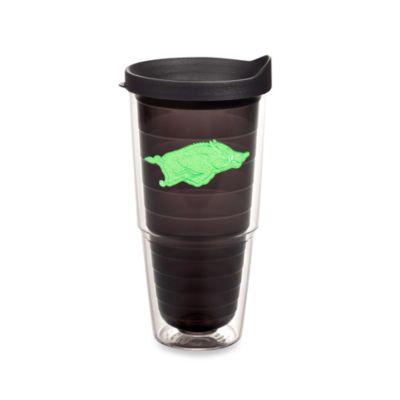 Tervis® University of Arkansas Razorbacks 24 oz. Tumbler with Lid in Neon Green