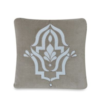 upstairs by Dransfield & Ross Madrigal 20-Inch Square Throw Pillow