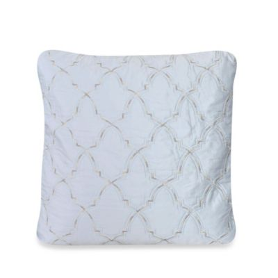 upstairs by Dransfield & Ross Madrigal 22-Inch Square Throw Pillow