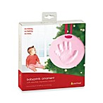 Babyprints Ornament in Pink