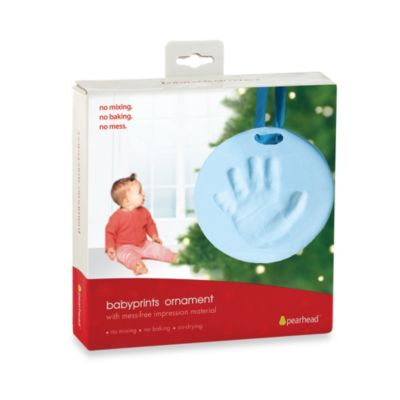 Babyprints Ornament in Blue