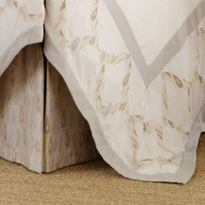 upstairs by Dransfield & Ross Madrigal Queen Bed Skirt