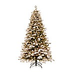 National Tree 7-Foot Feel-Real® Snowy Everest Fir Tree
