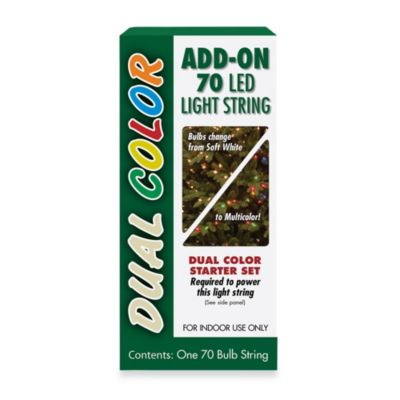 National Tree 70 Bulb Dual LED Add-On Light Set