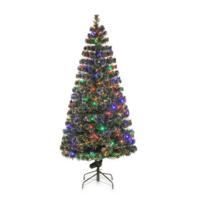 National Tree 6-Foot Fiber Optic Tree