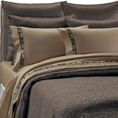 upstairs by Dransfield & Ross Antalya Coverlet Sham