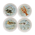 Certified International Beach Cottage Dessert Plates (Set of 4)