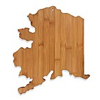 Totally Bamboo Alaska State Shaped Cutting/Serving Board