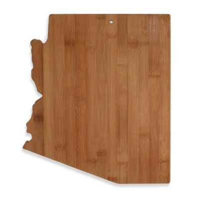 Totally Bamboo Arizona State Shaped Cutting/Serving Board