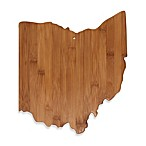 Totally Bamboo Ohio State Shaped Cutting/Serving Board