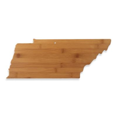 Totally Bamboo Tennessee State Shaped Cutting/Serving Board