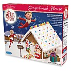 An Elf's Story® Elf on the Shelf Pre-Baked Gingerbread House Kit