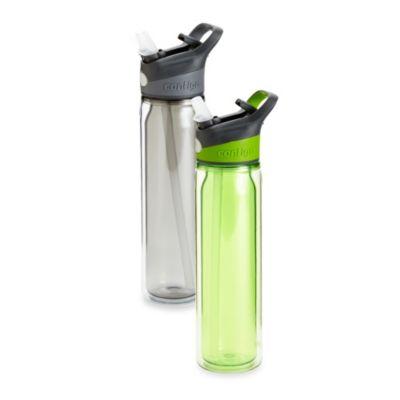 Waveland 18-Ounce AutoSeal Water Bottle in Green