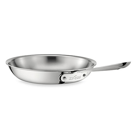 All-Clad Stainless Steel 8-Inch Fry Pan