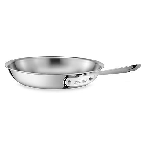 All Clad Stainless Steel 12 Inch Fry Pan Bed Bath Amp Beyond