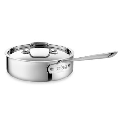 All-Clad Stainless Steel 3-Quart Covered Saute Pan