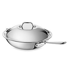 All-Clad Stainless Steel 12-Inch Covered Chef Pan