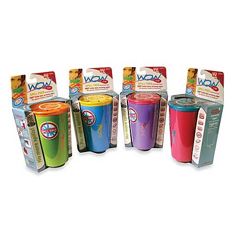 Wow Cup® Spill-Free Drinking Cup