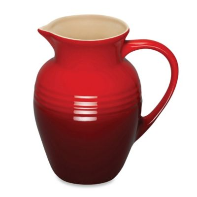 Le Creuset® 2-1/4-Quart Stoneware Pitcher in Cherry