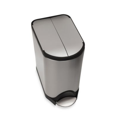 simplehuman® 20-Liter Butterfly Step Trash Can