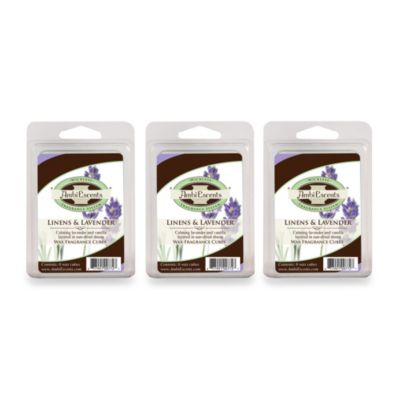 AmbiEscents Linens & Lavender 3-Pack Wax Fragrance Cubes