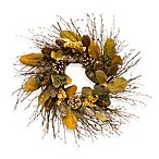 Silver Spruce Lodge Wreath