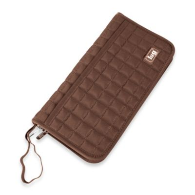 Lug® Tango Travel Wallet in Chocolate Brown