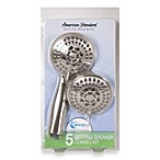 American Standard 5-Setting Shower Combo Kit in Brushed Nickel