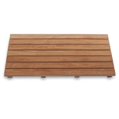 Teak Wood Bath Mat