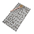 Pebble Bath Mat in Gray