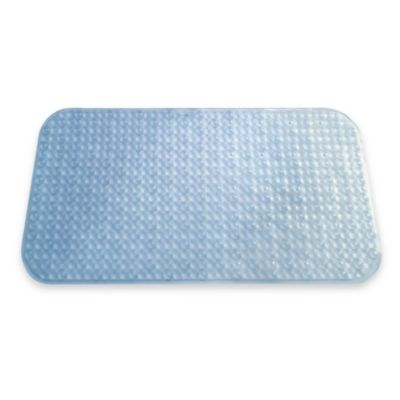 3-D Bath Mat in Blue