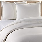 Pure Beech Percale Duvet Cover and Sham Set in White
