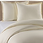 Pure Beech Percale Duvet Cover and Sham Set in Cream