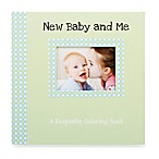 C.R. Gibson New Baby and Me Keepsake Coloring Book