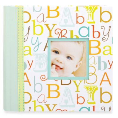 C.R. Gibson® Baby Love Slim Bound Photo Journal Album