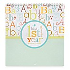 C.R. Gibson® Baby Love First Year Keepsake Calendar