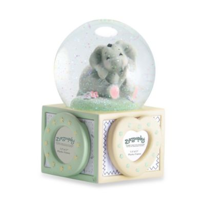 Precious Moments® Elsie the Elephant Water Globe with Photo Frames