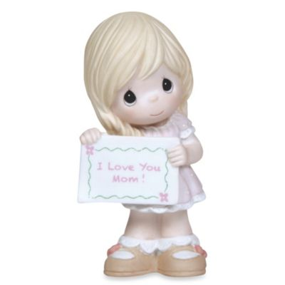 Precious Moments® Girl With I Love You Mom Sign Figurine