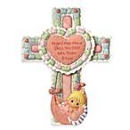 Precious Moments® Precious Little Blessings Baby Girl Cross with Stand