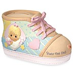 Precious Moments® Precious Little Blessings Baby Girl Shoe Money Bank