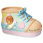 Precious Moments® Precious Little Blessings Baby Boy Shoe Money Bank