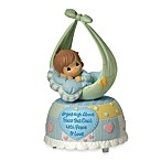 Precious Moments® Precious Little Blessings Baby Boy Musical Figurine