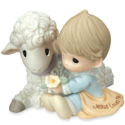 Precious Moments® Jesus Loves Me Boy Figurine