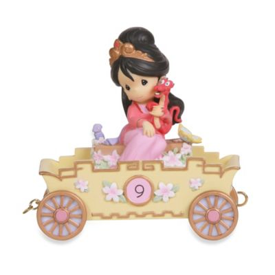 Precious Moments® Disney® Birthday Parade Mulan in 9th Birthday
